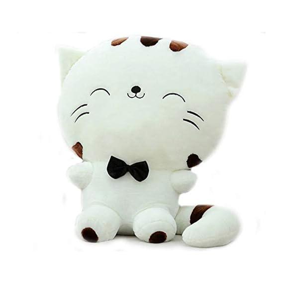 Cherubs Plush Cute Cat Soft Toy (Yellow, 45cm)