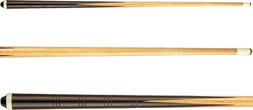 """2x 2-Piece Normal Wooden Snooker Cue 57/"""" for Pool Billiard Free Postage"""