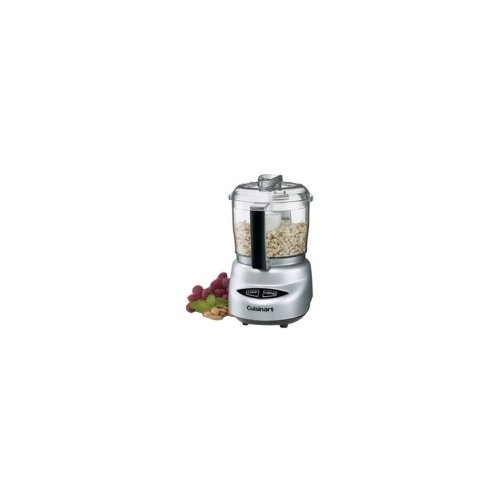 CONAIR REFURB MINI PREP PLUS PROCESSOR BRUSHED - 3 Cup (Capacity) - 2 Speed - 250 W Motor - Chrome / DLC-2ABCFR / (Conair Food Processor compare prices)