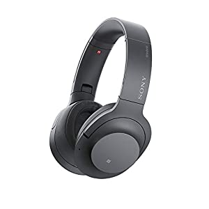 Sony – H900N Hi-Res Noise Cancelling Wireless Headphone Grayish Black Renewed