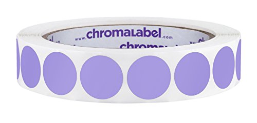 ChromaLabel 3/4 inch Color-Code Dot Labels | 1,000/Roll -