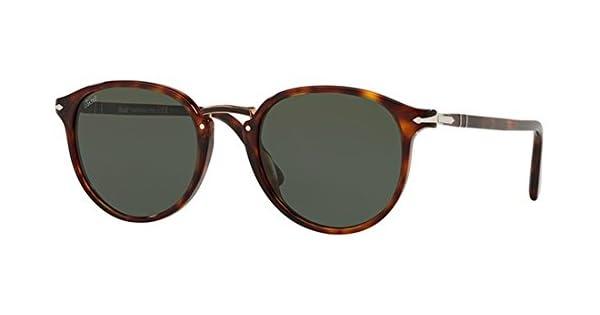 cec9f867f Persol Sunglasses For Men, Green PO3210S 24/31 54 54 mm: Amazon.ae