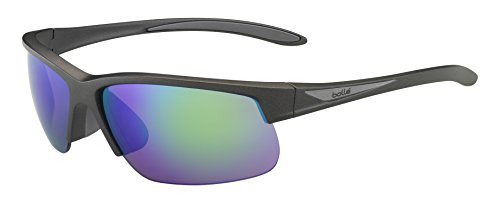 Bolle Breaker Sunglasses, Matte Anthracite/Grey Brown - Bolle Sunglasses Rx