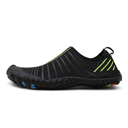 Pengy Woman&Mens Sports Quick Dry Barefoot Diving Swim Walking Beach Shoes Yoga Water Shoe Green ()