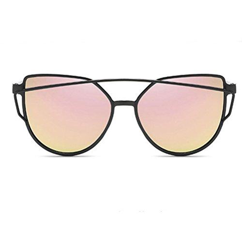 De E Moda G Gafas Unidos Metal Sol Grano Hipster ASD De Nueva Unisex Gafas Caja Y Film Estados Sol Color Trend Personalidad Europa HJJ Madera 8xw6SCgqn