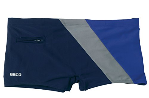 Beco - Bañador para hombre, color multicolor (azul / gris), talla  9 (Talla fabricante:XXL) Multicolor (Azul / Gris)