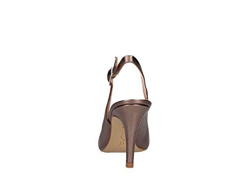Unisa Trebol Zapato Alto Mujer bronce
