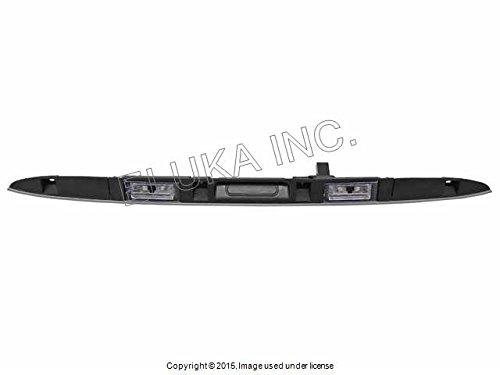 BMW Genuine Trunk Lid Rear Window Hatch Grip (Titanium) X5 3.0i X5 4.4i X5 4.6is X5 4.8is