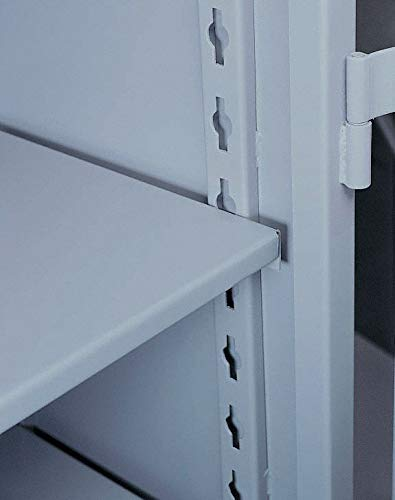 Dove Gray Steel Storage Cabinet Shelf, 36'' Width