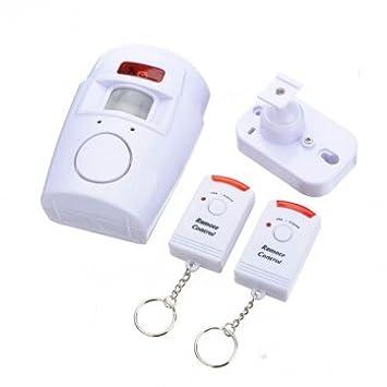 Obsidian Sensor de movimiento Control remoto por infrarrojos alarma seguridad para el hogar