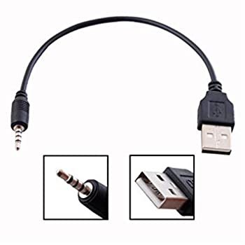 BRENDAZ USB to 2.5mm, USB CHARGE CABLE for JBL Synchros E40BT E50BT & J56BT HEADPHONE, 6 Inches Long.