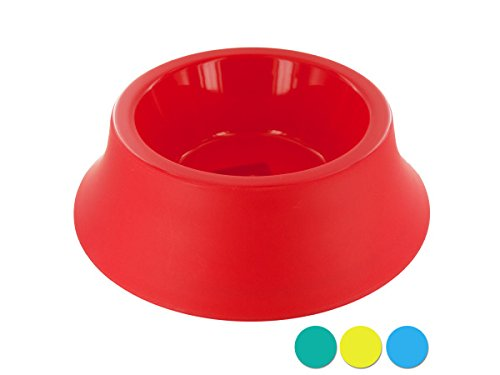 Large Size Round Plastic Pet Bowl - Pack of 36