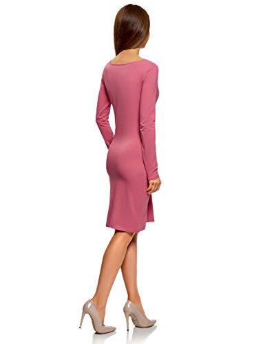 De Ultra Oodji 19h0n Ajustado Mujer pack Vestido 3 Multicolor wH7rwx