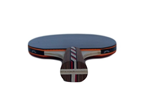 Table Tennis & Ping Pong Paddles Set with Carry Case - Professional Quality Racket with Flared Wood Handle for Novice to Semi-Pro by Flying Fox Paddles by Flying Fox (Image #8)