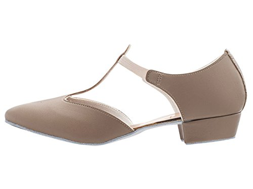 Dance Jive Ballroom Greek Dancewear Cerco Sandal Tan Glitter All Katz Salsa Leather Ladies Colours Shoe PU Teaching Girls By qP0nF1wfx