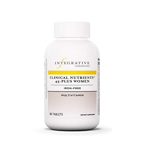 Integrative Therapeutics - Clinical Nutrients 45-Plus Women - Iron-Free Multivitamin - 180 Tablets