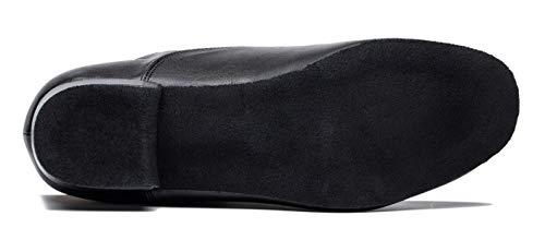Pictures of Gogodance Men's Boys Professional Lace-up Black 10.5 M US 6