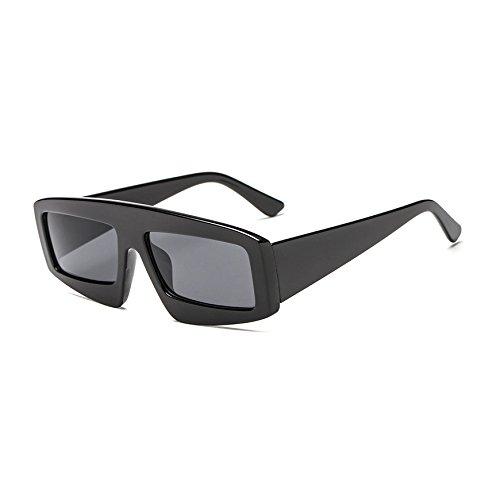 de Bastidor Exclusiva Burenqi Grande Unisex Gafas Aviador de la de gradiente A Sol Moda Negro Tonos E de Marca Mujer Sol Gafas Gafas Amarillo de Aaq8Ap