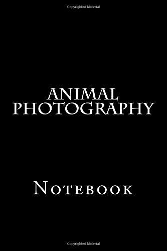 Animal Photography: Notebook pdf epub
