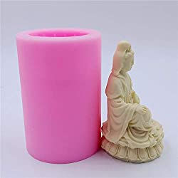 Great Molds Bodhisattva Silicone Candle Mold Avalo