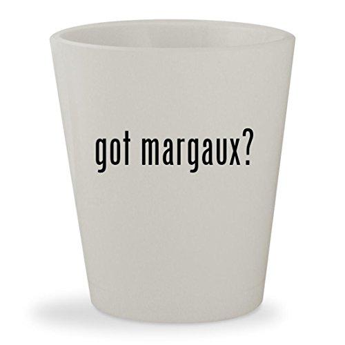 Margaux Robe Hook (got margaux? - White Ceramic 1.5oz Shot Glass)