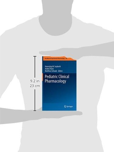 205: Pediatric Clinical Pharmacology (Handbook of Experimental Pharmacology)