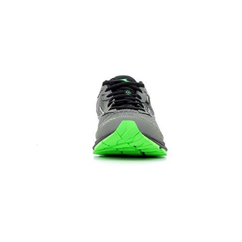 Gtx Mizuno Gunmetal Gris noir vert Black Rider Foncã Wave 22 Green qTRxw6CTB1