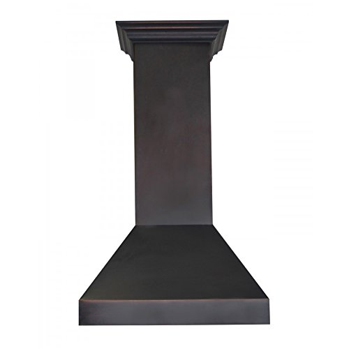 Z Line 8597B-30 30'' 900 CFM Designer Series Wall Mount Range Hood, Oil-Rubbed Bronze by Z-Line