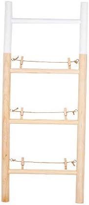CV2 - Portafotos Escalera Bambu: Amazon.es: Hogar