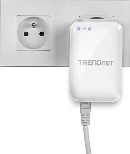 TRENDnet AC750 Wireless Dual Band Travel Router, Share a Single Internet Connection with Multiple Users, WPS for Security, Plug & Play, WISP, AP, Repeater Mode, TEW-817DTR
