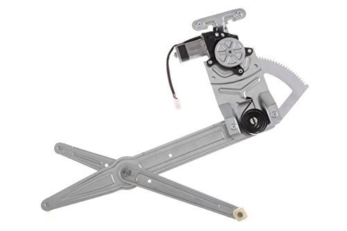 HANSUN 8801-0332 Power Window Regulator With Motor Front Left Driver Side For Chevy GMC - Astro Safari Van - Cargo Passenger Van (Window Power Van)