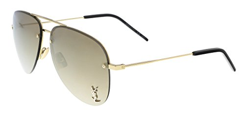 Sunglasses Saint Laurent CLASSIC 11 M M 11 004 GOLD / BRONZE / - Laurent Mens Sunglasses Saint