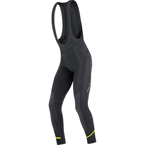 GORE BIKE WEAR, Men's, Cycling thermo bibtights with suspenders, Padded, GORE Selected Fabrics, POWER 3.0 Thermo+, Size L, Black, - Triathlon Spanish City