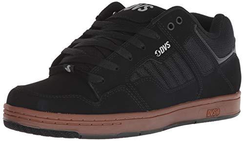 DVS Men's Enduro 125 Skate Shoe Black Reflective Gum Nubuck 8 Medium US