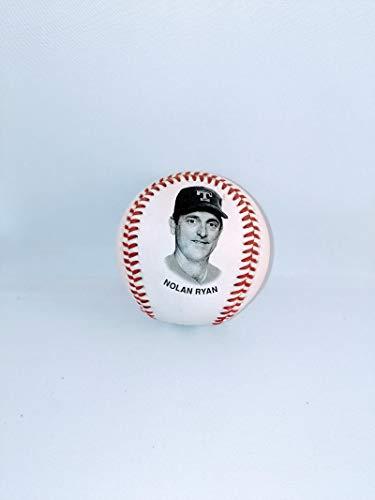 Fotoball Baseball - 1993 TX Texas RangersNolan Ryan Chevron Team Stars Fotoball Baseball