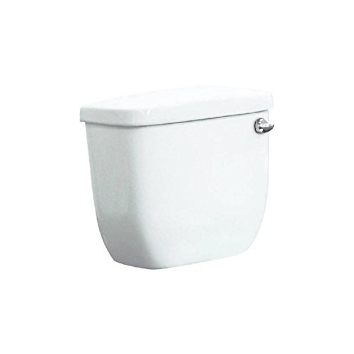 Transolid TT-1440-01RH Vitreous China Tank with Right-Hand Trip Lever in White