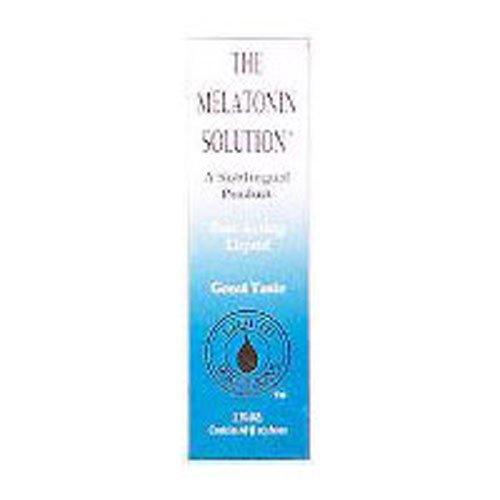 Sublingual Melatonin Solution, Pack of 3 (Melatonin Solution)