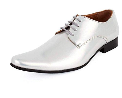 Chaussures Habillées Contemporaines Argent Vernies - Alexander Dobell