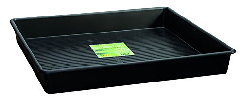 Tierra Garden GP112B Square Garden Tray, 3-Feet, Black