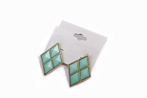 Dandingding Fashion Full Gemstone Studded Prismatic ()