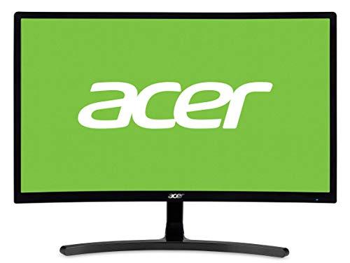 Acer ED242QRAbidpx 23.6 Inch FHD Curved Monitor, Black(VA Panel, FreeSync, 144 Hz, 4ms, DP, HDMI, DVI)