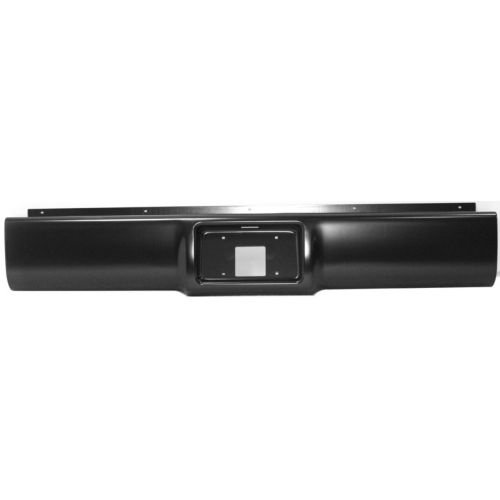PC825508 - C10 Pickup Rear Roll Pan, Steel, W/ License Plate Part, W/ Light Kit And Hardware (C10 Roll Pan)