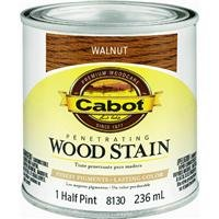 CabotStain 144-8130 HP Cabot 1/2 Pint Interior Oil Wood Stain, Walnut (Cabot Interior Oil)