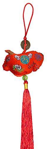 Chinese Zodiac Symbols / Chinese Gifts / Chinese Zodiac Animals / Embroidered Chinese Zodiac Ornament - Chinese Zodiac Symbol / Ox