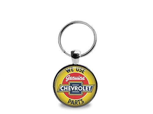 Vintage Chevrolet Part Key - Chevrolet Keychain