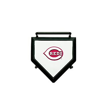 MLB Cincinnati Reds Home Plate 4-pack Coaster Set
