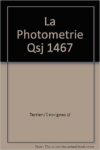 Lire La photométrie pdf, epub