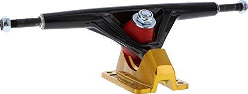 Seismic Aeon 30 Degrees Hollow 180mm Hi Black / Gold Longboard Trucks - 9.75