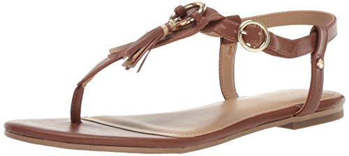 Aerosoles Women's Short Circuit Sandal Dark tan 5 M US