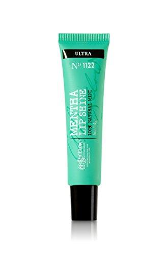 0.5 Ounce Bath Shower - Bath Body Works C.O. Bigelow Mentha Lip Shine Ultra 1122
